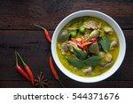 Thai Food Chicken Green Curry...