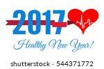 congratulations to the healthy... | Shutterstock . vector #544371772