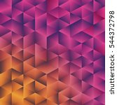 geometric polygonal background. ... | Shutterstock .eps vector #544372798