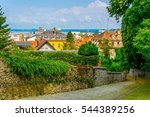 aerial view of bregenz from a... | Shutterstock . vector #544389256