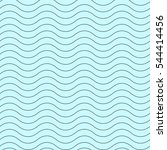 wavy thin line seamless pattern.... | Shutterstock .eps vector #544414456