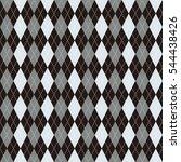 background of argyle pattern | Shutterstock .eps vector #544438426