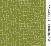 crocodile print pattern | Shutterstock .eps vector #544454422