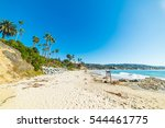 clear sky over laguna beach ... | Shutterstock . vector #544461775