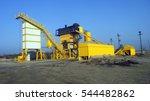 the station gravel sorting | Shutterstock . vector #544482862