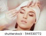 permanent makeup. beautiful... | Shutterstock . vector #544530772