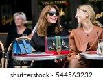paris september 30  2016.... | Shutterstock . vector #544563232