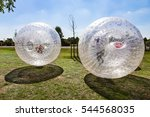 children have a lot of fun in... | Shutterstock . vector #544568035