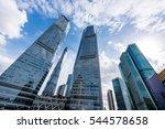 the skyscraper external... | Shutterstock . vector #544578658