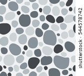 Marbles Pebbles Seamless Pattern