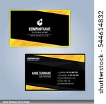 yellow and black modern... | Shutterstock .eps vector #544614832