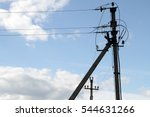 Electric Wire On The Pole ...