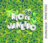 bright vector carnival... | Shutterstock .eps vector #544671052