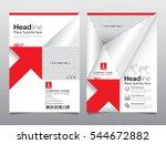 business brochure flyer design... | Shutterstock .eps vector #544672882