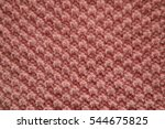 moss stitch knitting background ... | Shutterstock . vector #544675825