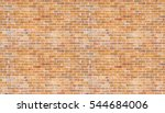 brick wall and vintage... | Shutterstock . vector #544684006