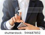 business loudspeaker... | Shutterstock . vector #544687852