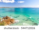 byron bay on a clear day  | Shutterstock . vector #544712026