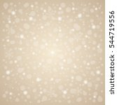 christmas   new year snow... | Shutterstock . vector #544719556