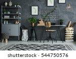 multifunctional room corner... | Shutterstock . vector #544750576