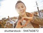 barcelona signature style.... | Shutterstock . vector #544760872