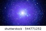 high definition star field... | Shutterstock . vector #544771252