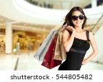 fashion woman shoping.