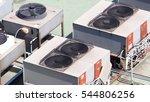 air conditioner compressor on... | Shutterstock . vector #544806256