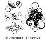 ornament swirl   Shutterstock .eps vector #54484426