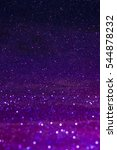 purple sparkling lights festive ... | Shutterstock . vector #544878232