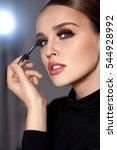 Beauty Make Up. Portrait Of...