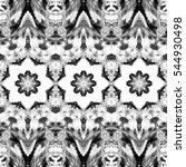 melting seamless black and... | Shutterstock . vector #544930498