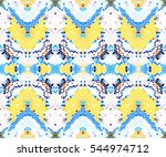 mosaic seamless colorful... | Shutterstock . vector #544974712
