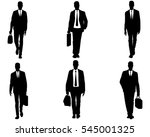 vector illustration of a six... | Shutterstock .eps vector #545001325