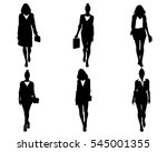 vector illustration of a six... | Shutterstock .eps vector #545001355