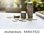money and business finance for...   Shutterstock . vector #545017522