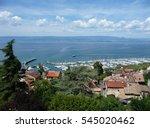 Small photo of View of Thonon-les-Bains, Lake Geneva, France