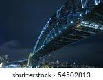 sydney harbour bridge at night | Shutterstock . vector #54502813