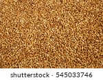 wheat grains background or top... | Shutterstock . vector #545033746