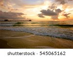 sunset in marco island florida | Shutterstock . vector #545065162