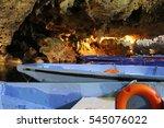 Underwater Cave Greece Marine