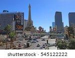 Las Vegas Strip Nv Usa  ...