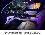vehicle interior | Shutterstock . vector #545123692