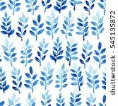 watercolor seamless pattern...   Shutterstock . vector #545135872