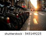Bicycle Rental Station In Pari...