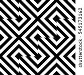 vector seamless pattern.... | Shutterstock .eps vector #545173162