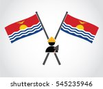 kiribati emblem labor... | Shutterstock .eps vector #545235946