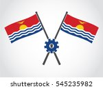 kiribati emblem growth progress | Shutterstock .eps vector #545235982