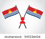kiribati emblem evil crime | Shutterstock .eps vector #545236426