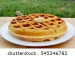 Belgian Waffle For Breakfast...
